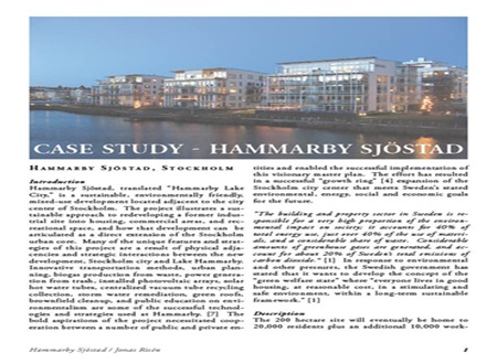 Hammarby Sjostad_Case Study_Jonas Risen_Cover Image