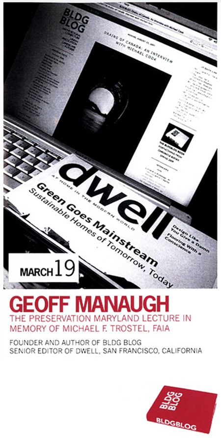 Geoff Manaugh Lecture_Image 01