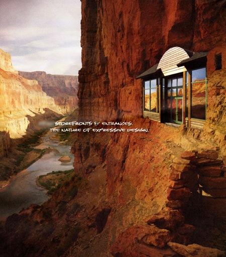 Facade in the Grand Canyon