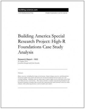 Image 02_Building Science_High-R Foundations Case Study Analysis