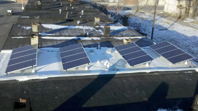 Solar Panels on Roof 02