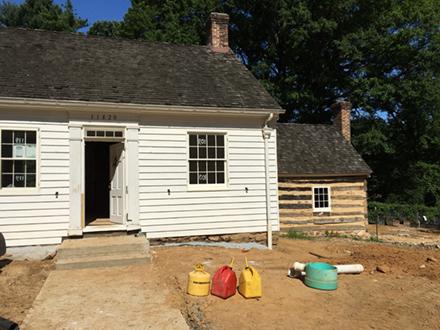 Historic Plantation House and Log Kitchen
