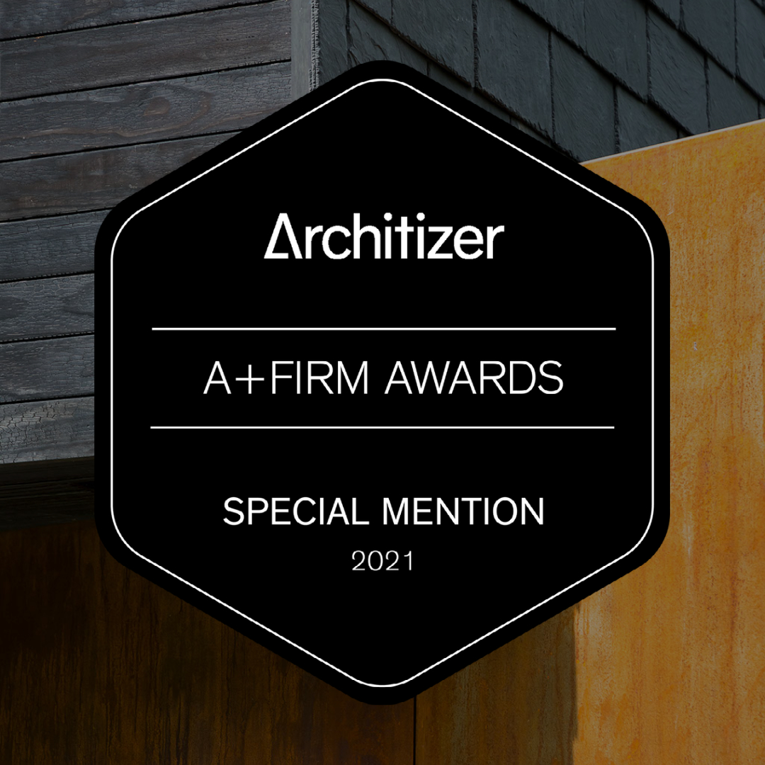 2021 Architizer A+Firm - Special Mention, Best Medium Firm