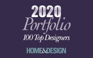 Home & Design Portfolio Top 100 Designers 2020