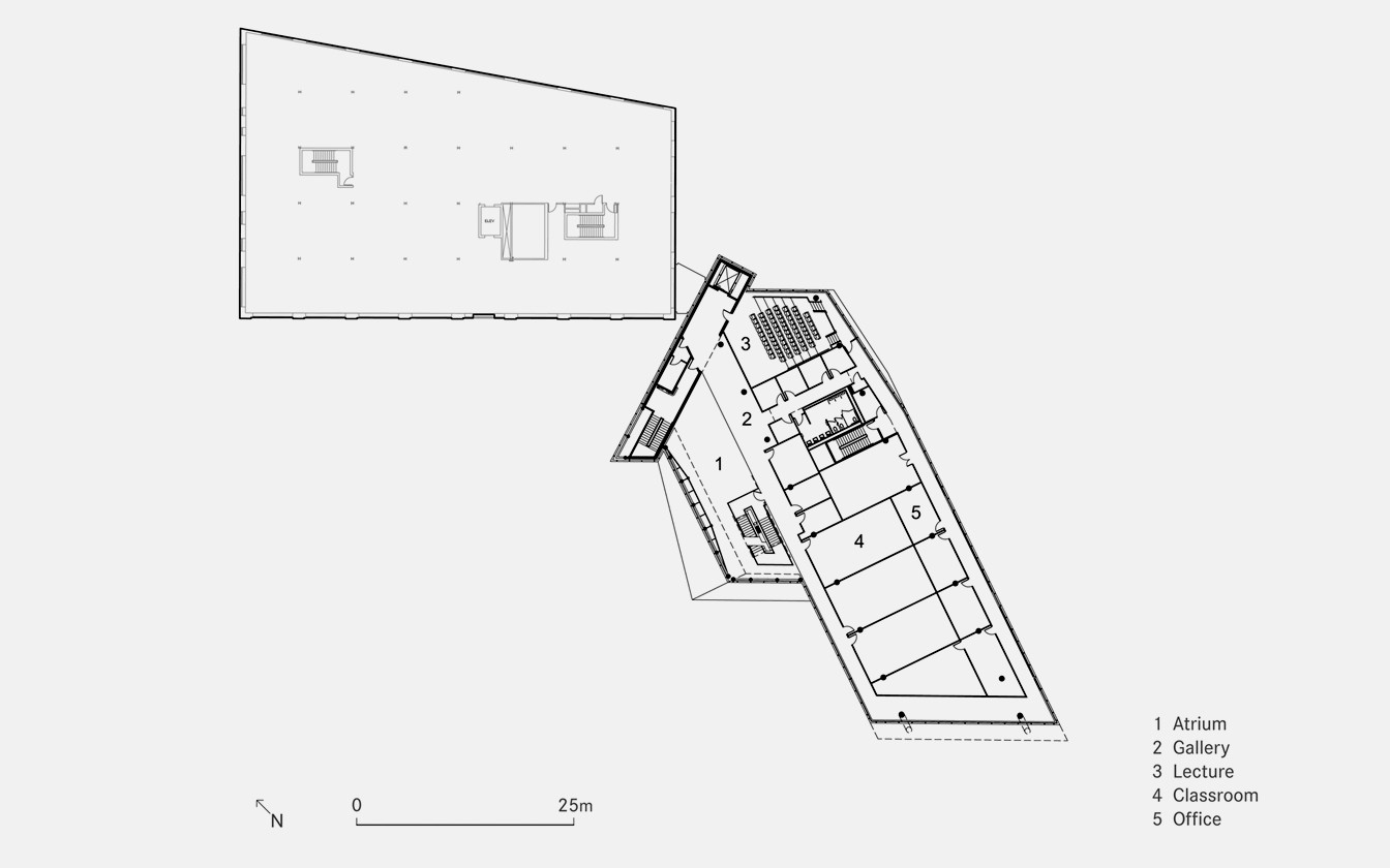 Projects ziger snead architects for Floor plans brown university
