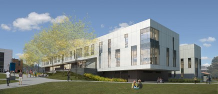 Rendering-Montgomery College Student Affairs and Science Building