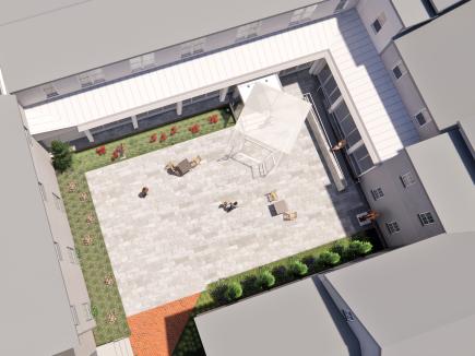 -Academy Art Museum Renovation & Courtyard Entrance
