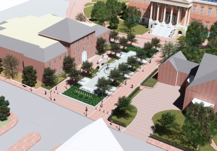Rendering -Lawyers Mall Reconstruction