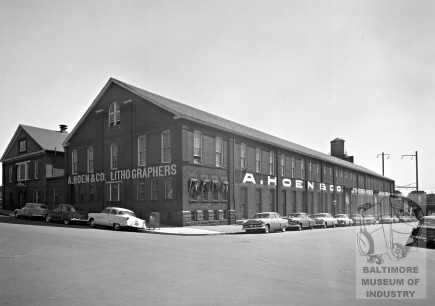 Historic-Hoen & Co. Lithograph Center for Neighborhood Innovation Redevelopment