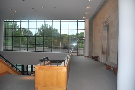 Lobby Before Renovation-Baltimore Museum of Art