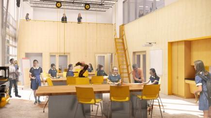 -Notre Dame Preparatory School Innovation Wing