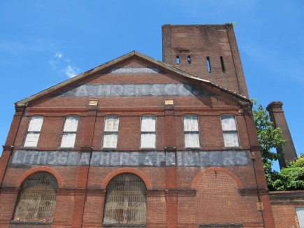 Before-Hoen & Co. Lithograph Center for Neighborhood Innovation Redevelopment