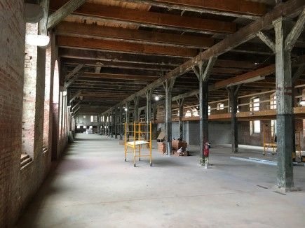 Construction-Hoen & Co. Lithograph Center for Neighborhood Innovation Redevelopment