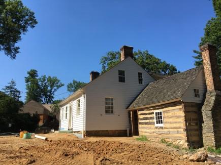 Historic House - Construction-Josiah Henson Park Visitor Center & Museum