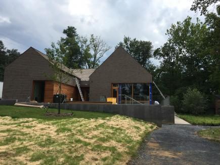 Visitor Center - Construction-Josiah Henson Park Visitor Center & Museum