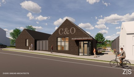 Rendering-National Park Service C&O Canal Headquarters