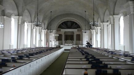 Sanctuary Before Renovation-Second Presbyterian Church