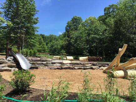 Construction -Jefferson Patterson Park RITES Trail Exhibits & Playground