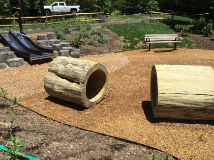 Construction-Jefferson Patterson Park RITES Trail Exhibits & Playground