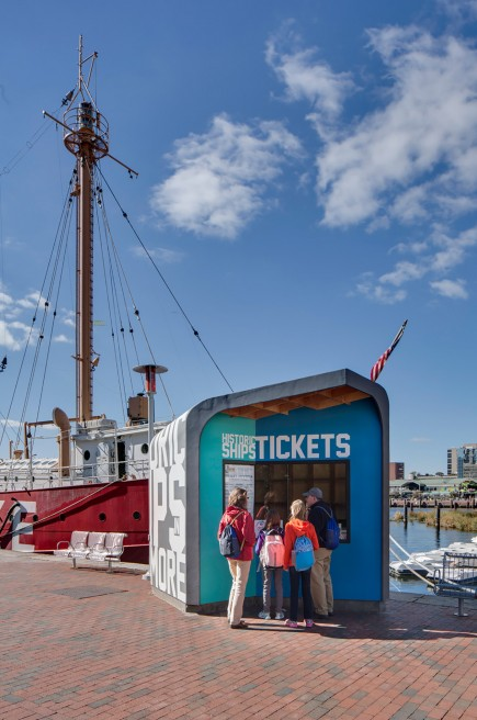 -Pier 3 Ticket Booth