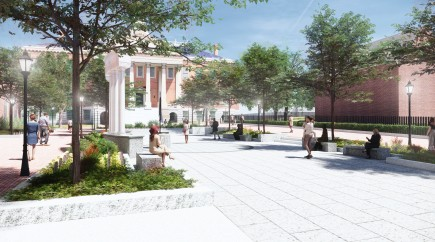 Rendering-Lawyers Mall Reconstruction