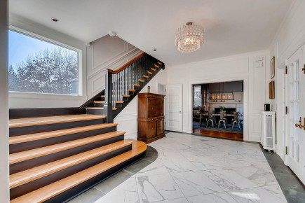 Roland Park Foyer-Small Residential Projects