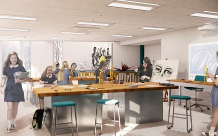 Notre Dame Preparatory School STEAM Addition»
